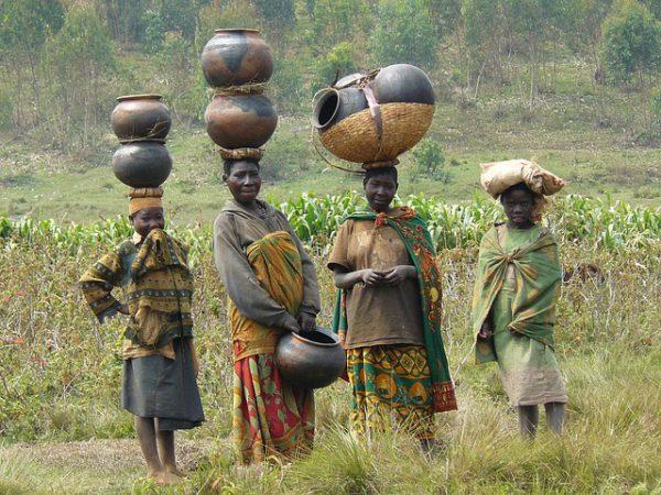Batwa volk in Oeganda