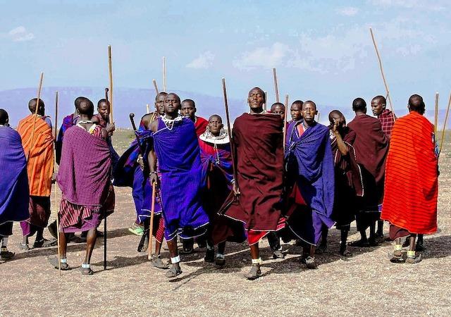 Masai dorp